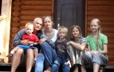 Семья Корельских:  Дети – это Божье благословение!