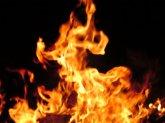 В Майской Горке произошел пожар