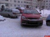 За парковку на газонах нет наказания?!